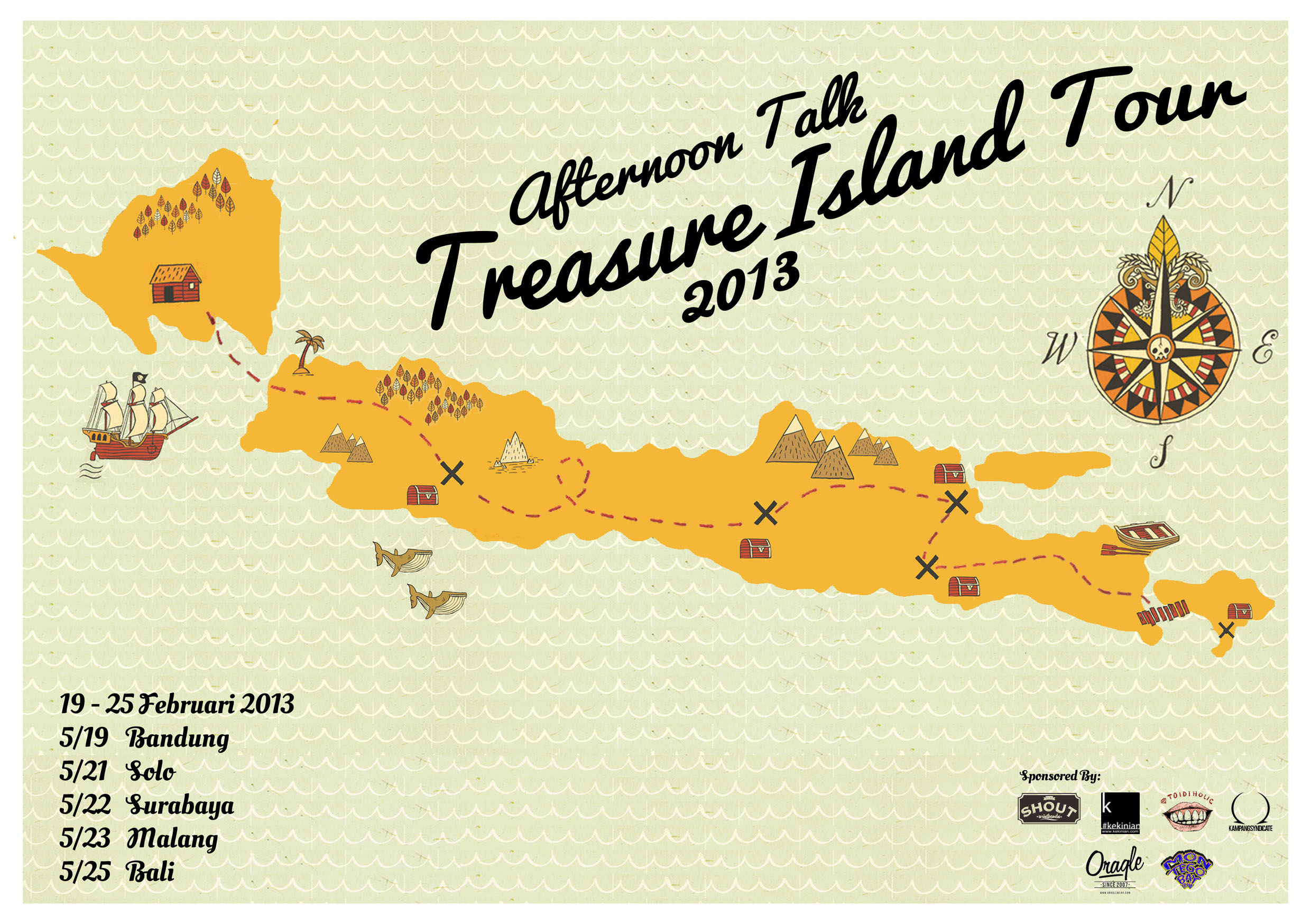 AFTERNOON TALK – Treasure Island Tour 2013 | WASTED ROCKERS