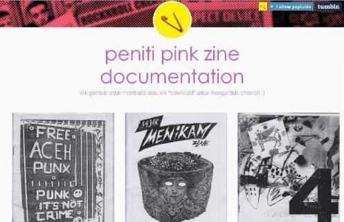 Peniti Pink