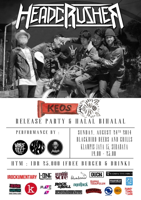 headcrusher - keos (launching-party)