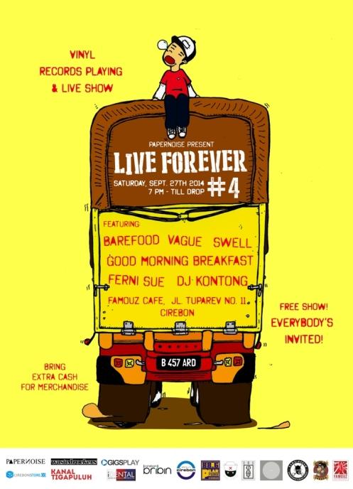 LIVE FOREVER #4