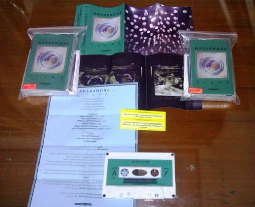Ansaphone - Frame (album packaging)