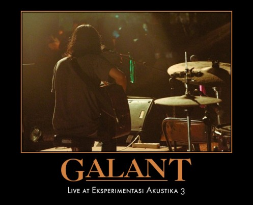 Coming-soon Galant - Live At Experimentasi Akustika #3
