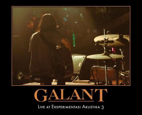 Coming-soon Galant - Live At Experimentasi Akustika #3