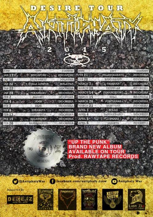 Antiphaty - tourdates