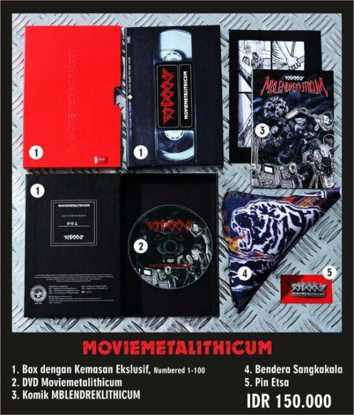 Sangkakala DVD