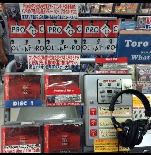 PROTOCOL AFRO Jepang