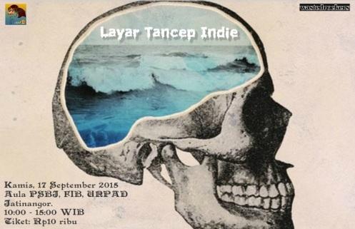 Layar Tancep Indie 2015 (alternate poster)