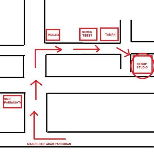Peta Studio BepBop Tebet 2