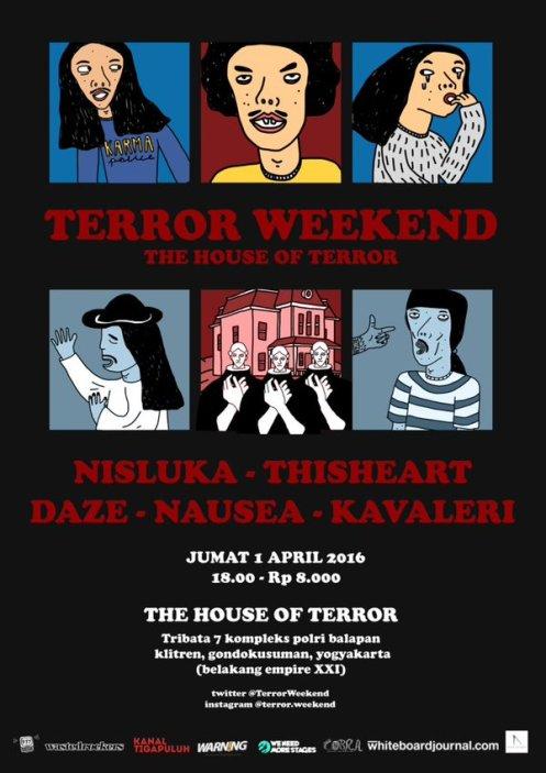 Terror Weekend (revisi poster)