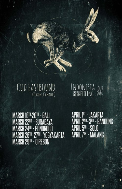 Cud Eastbound - Indonesian Tour 2016