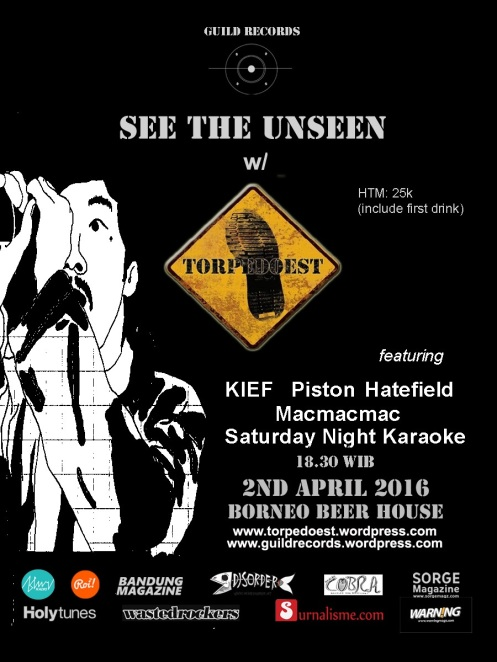 Poster launching TOPEDOEAST See The Unseen