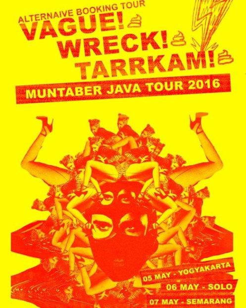 Muntaber Java Tour 2016