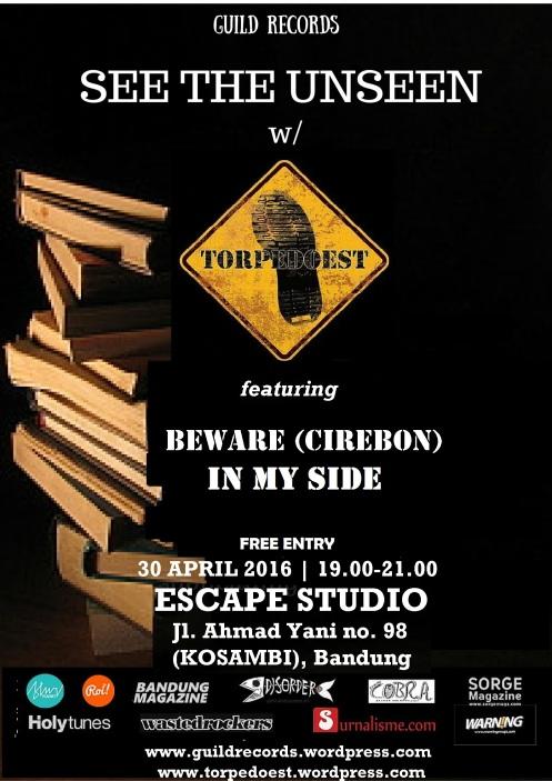 TORPEDOEAST - Bandung launching party