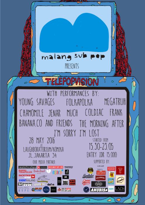 Malang Subpop - Telepopvision