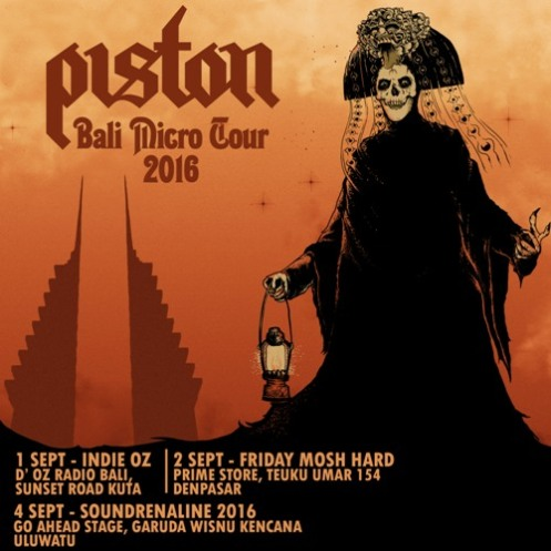 Piston - Bali Micro Tour 2016