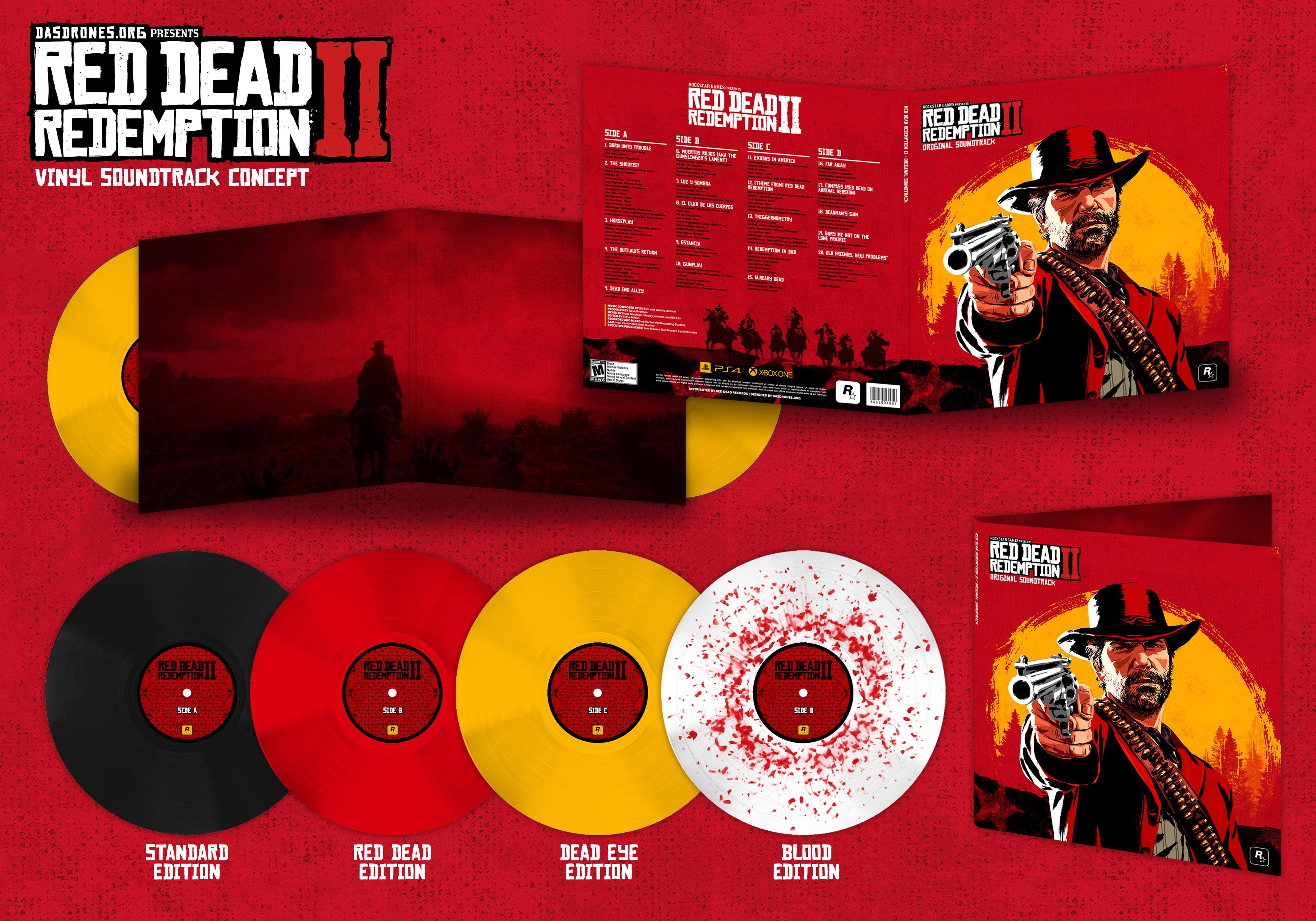 Senyawa Isi Soundtrack Game Red Dead Redemption 2 Wasted